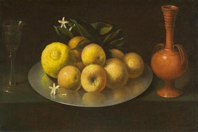 Still Life with Glass, Fruit, and Jar, c.1650