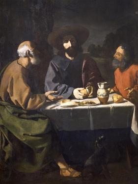 Supper at Emmaus, 1639 by Francisco de Zurbaran