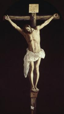 The Crucified Christ by Francisco de Zurbarán