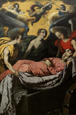 The Entombment of St. Catharine of Alexandria on Mount Sinai by Francisco de Zurbaran