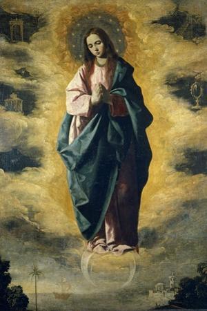 The Immaculate Conception, ca. 1630 by Francisco de Zurbarán