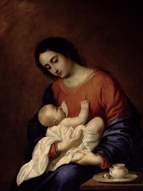 Virgin and Child by Francisco de Zurbarán