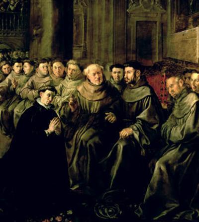 Welcoming St. Bonaventure by Francisco Herrera