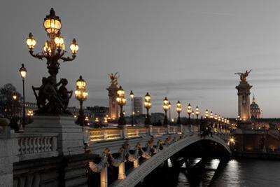 Alexander Iii Bridge, Paris, France by Francisco Javier Gil