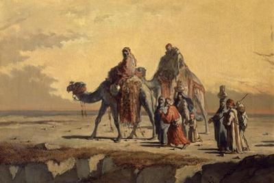 Desert Scene, C. 1863 by Francisco Lameyer
