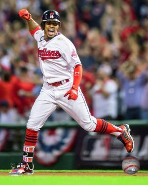 Francisco Lindor Home Run Game 1 of the 2016 American League Division Series