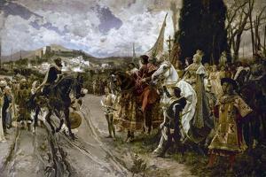 The Surrender of Granada in 1492 by Francisco Pradilla Y Ortiz