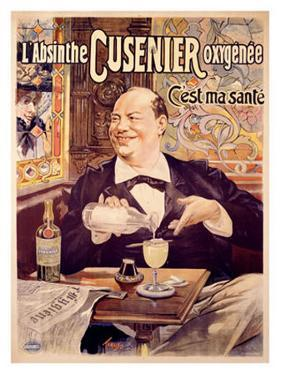 Absinthe Cusenier by Francisco Tamagno