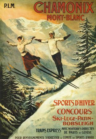 Chamonix by Francisco Tamagno