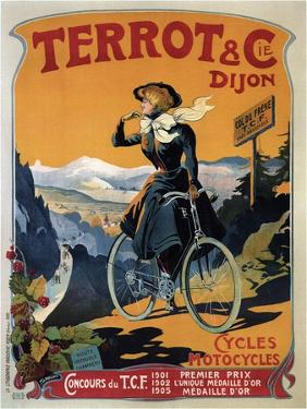 Cycles Terrot and Cie, 1905 by Francisco Tamagno