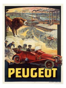 Peugeot by Francisco Tamagno
