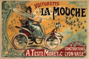 Voiturette La Mouche, 1900 by Francisco Tamagno