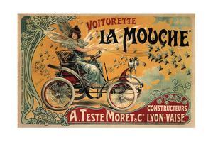 Voiturette La Mouche, 1900 by Francisco Tamagno