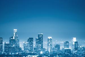 Los Angeles Skyline by franckreporter