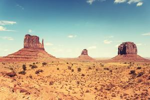 Monument Valley Panorama - Tribal Navajo National Park by franckreporter