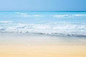 Tropical Sand Summer Beach Landscape by franckreporter