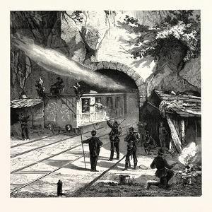 Franco-Prussian War: Guarding the Railway Tunnel Near Saarburg by North German Landwehr, Germany