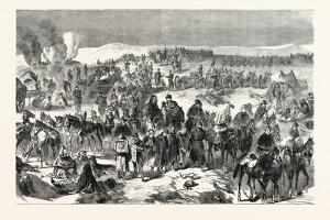 Franco-Prussian War: Troops Bourbaki Disarmed by Swiss Near Les Verrieres the February 2, 1871