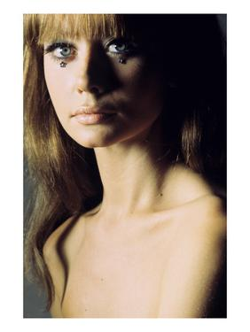 Glamour - June 1966 - Topless Model by Franco Rubartelli