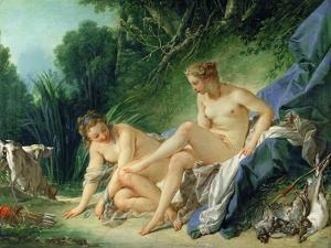 Diana after the Bath by François Boucher