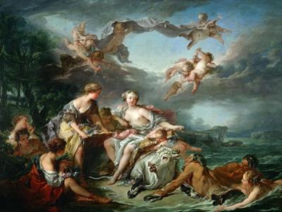 El rapto de Europa, 1747. by Francois Boucher