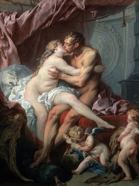 Heracles and Omphale, 18th Century by François Boucher