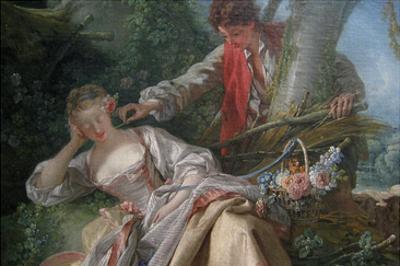 Interrupted Sleep by Francois Boucher