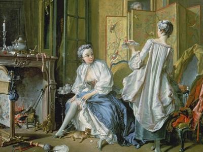 La Toilette, 1742 by Francois Boucher