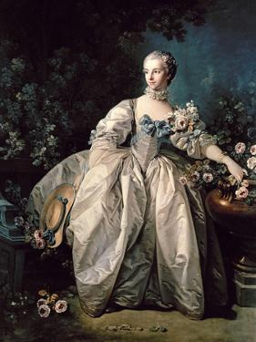 Madame Bergeret by Francois Boucher