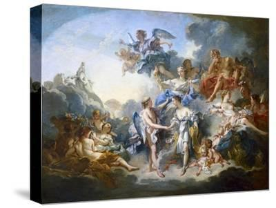 Marriage of Cupid and Psyche by Francois Boucher