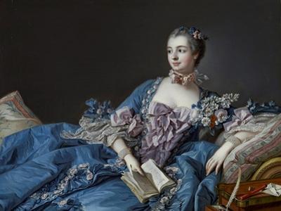 Portrait of the Marquise De Pompadour (1721-1764) by Francois Boucher