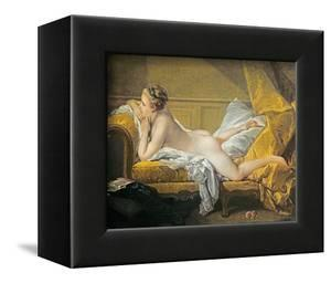 Reclining Nude (Miss O'Murphy) by Francois Boucher