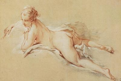 Recumbent Nude by Francois Boucher