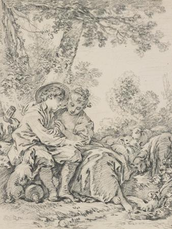 Rustic Courtship by Francois Boucher