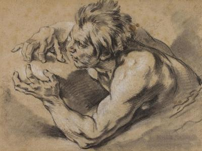 Study of a Triton, 1748-53 by Francois Boucher