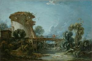 The Dovecote, 1758 by Francois Boucher