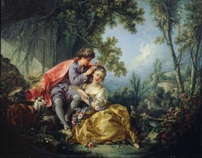 The Four Seasons: Spring by Francois Boucher