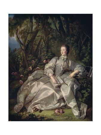 'The Marquis De Pompadour', 1758, (c1915)
