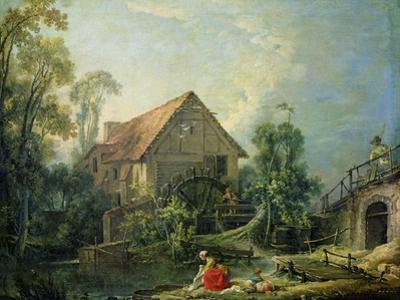 The Mill, 1751 by Francois Boucher