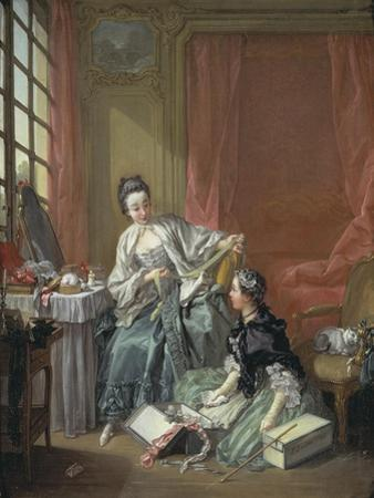 The Milliner, 1746 by Francois Boucher