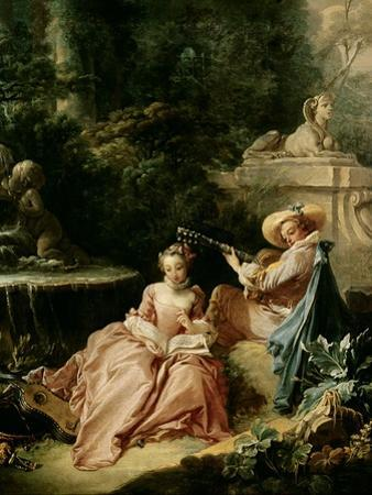 The Music Lesson, 1749 by Francois Boucher