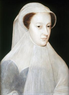 Portrait of Mary, Queen of Scots by Francois Clouet