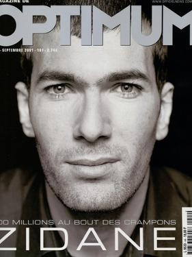 L'Optimum, September 2001 - Zinedine Zidane by François Darmigny