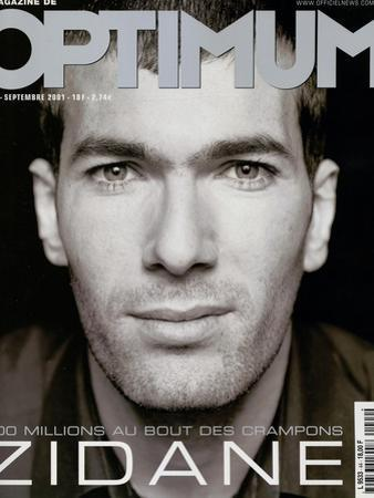 L'Optimum, September 2001 - Zinedine Zidane by François Darmigny