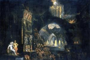 The Underworld, C1613-C1644 by Francois de Nome