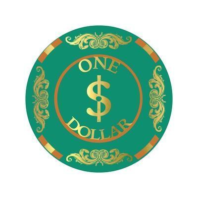 Pokerchip $1, 2015