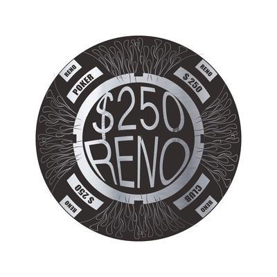 Pokerchip $250, 2015