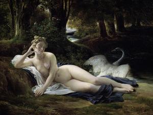 Leda by Francois-edouard Picot