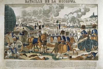 Battle of Borodino, Russia, September 1812