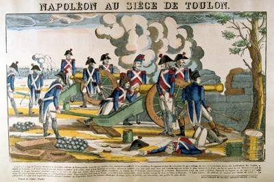 Napoleon at the Siege of Toulon, 1793